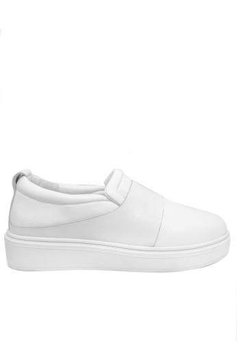Twenty Eight Shoes white Modern Style Leather Slip-ons 2018-8 F21FESH0172B72GS_1