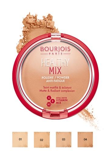 Bourjois brown Bourjois Healthy Mix Powder AntiFatigue - 04 Dark Bronze 6704ABED3EC6B5GS_1