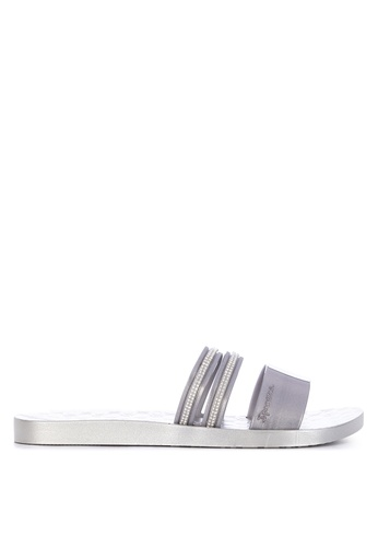 best value 7cf05 2ec49 Shop Ipanema New Glam Fem Flat Slides Online on ZALORA Philippines