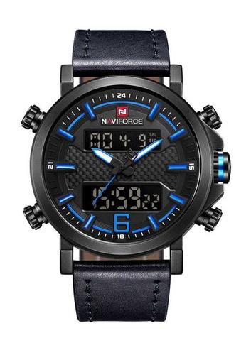 Naviforce blue Naviforce Black and Blue Watch AA40AACA0602C5GS_1