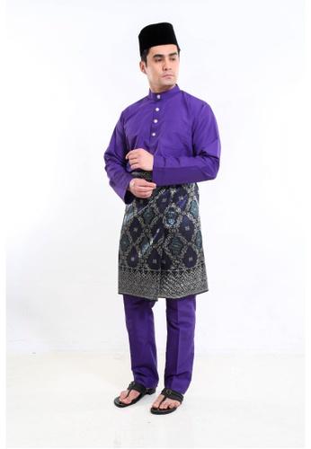 Amar Amran purple Baju Melayu Moden F620EAA7CF46EFGS_1