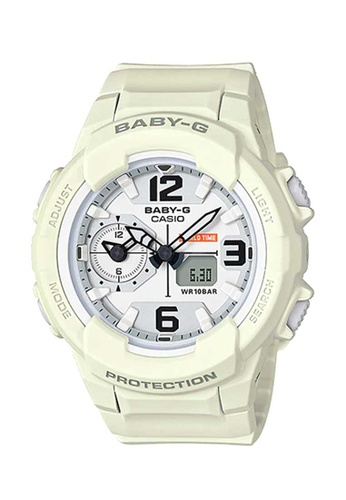 CASIO white Casio Baby-G White Resin Watch FBCE1ACB1B36D1GS_1