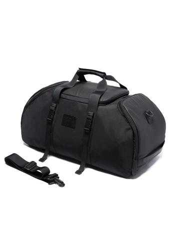 Golden Wolf black Bange Sport Carry Backpack D9745AC409F1D7GS_1