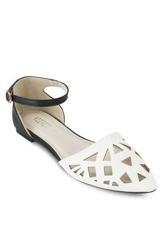 Mabel Ankle Strap Flats