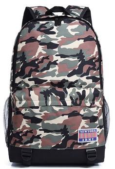 Newyork Army Deluxe Camo Backpack