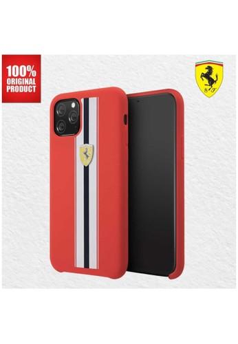 Ferrari red Casing iPhone 11 Pro Max On Track Pista Silicone Ferrari - Red 65B46ESF6ACD5DGS_1