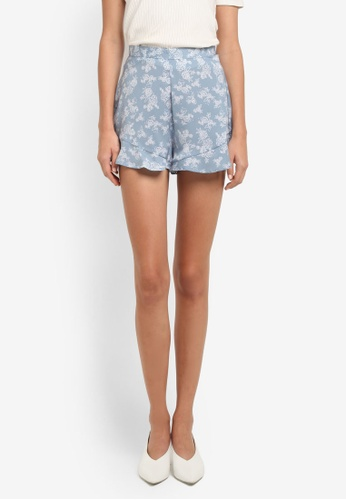 The Fifth Label blue Ophelia Shorts TH664AA0SF8DMY_1