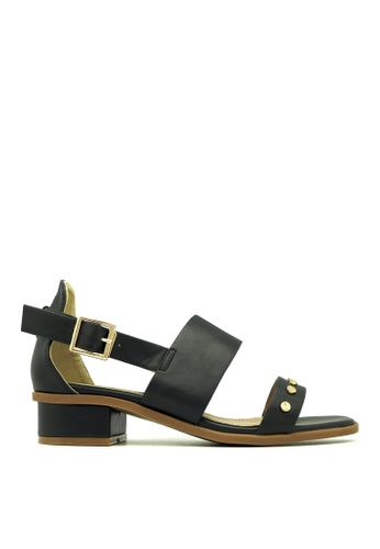 "Carlo Rino black Carlo Rino 33340-A040-08 1""Slingback Dress Sandals (Black) 4E34FSH3590B94GS_1"