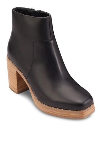 Laverne 木製粗高跟踝靴, 韓系esprit outlet 高雄時尚, 梳妝