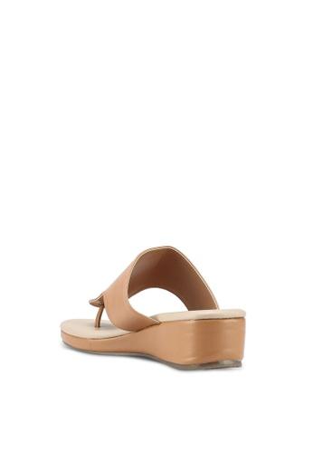 Slide On Wedge Sandals