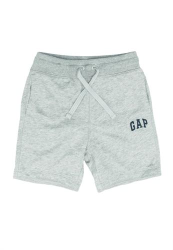 GAP grey Logo Shorts 4D92BKAA77A6B5GS_1