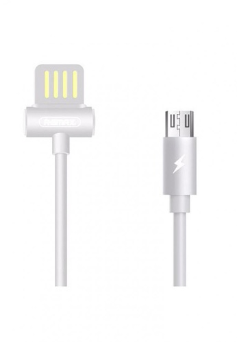 Stylebox white Remax RC-082m Waist Drum Data Cable for Micro USB DE007ACAA58A93GS_1