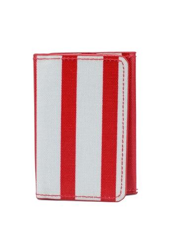 Cath Kidston red Breton Stripe Ticket Holder OC E111DACDEAD317GS_1