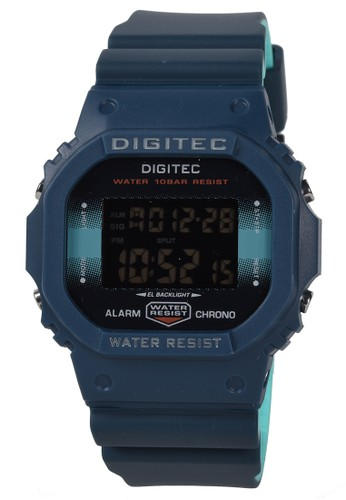 Digitec green Digitec - Jam Tangan Pria - Blue - Resin Strap - MDG6044-C C4C98ACDD02FAEGS_1