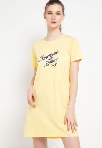 Puppy multi Dress Daster Stripe Sleepwear D530CAA38F105EGS_1
