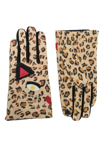niko and ... brown Eyes Gloves 51F50AC8A76FCCGS_1