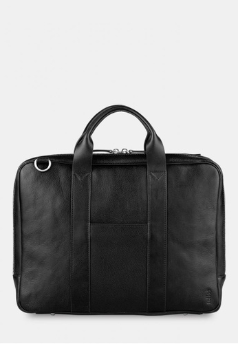toffee black Lincoln Briefcase TO318AC97DTQSG_1