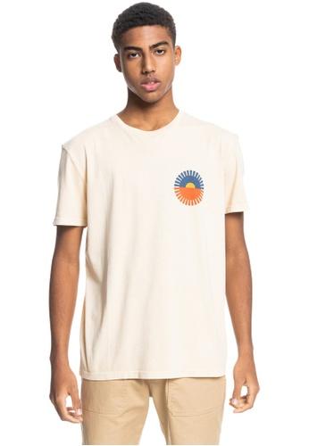 Quiksilver white Crescent City Organic T-Shirt F72B1AA68C1AC8GS_1