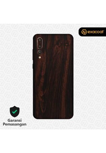 Exacoat Huawei P20 Pro Skins Wood Mahogany - Cut Only 89FD0ESEA667D9GS_1