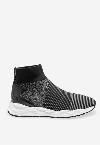 ASH grey Scratch - Grey Mesh Weaving Sneakers A642ASH7EB5D63GS_1
