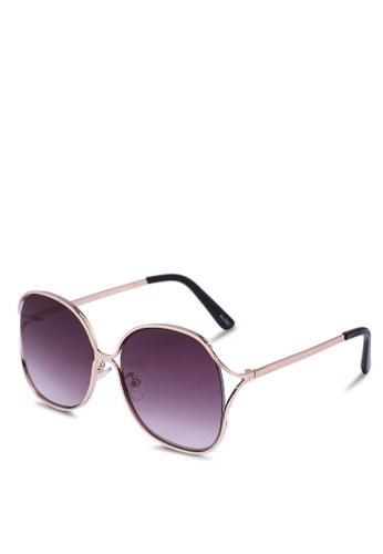 ALDO gold Breidia Sunglasses FD325GLAD81DE5GS_1