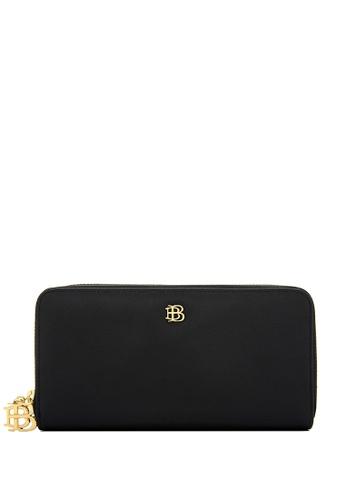 BONIA black Black Bikki Long Zippered Wallet 7205FAC3E4FC97GS_1