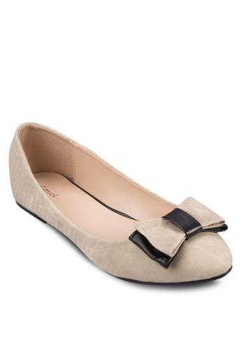 蝴蝶結基zalora 男鞋 評價本款平底鞋, 女鞋, 鞋
