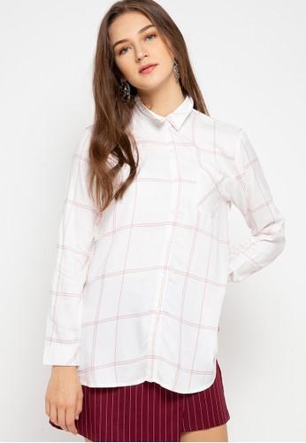 GEELA white Godehyda Shirt 8043DAA95CB574GS_1