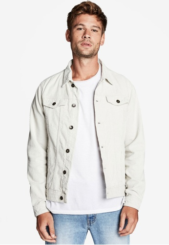 Cotton On beige Rodeo Jacket 4BC2FAA0C6AF1FGS_1