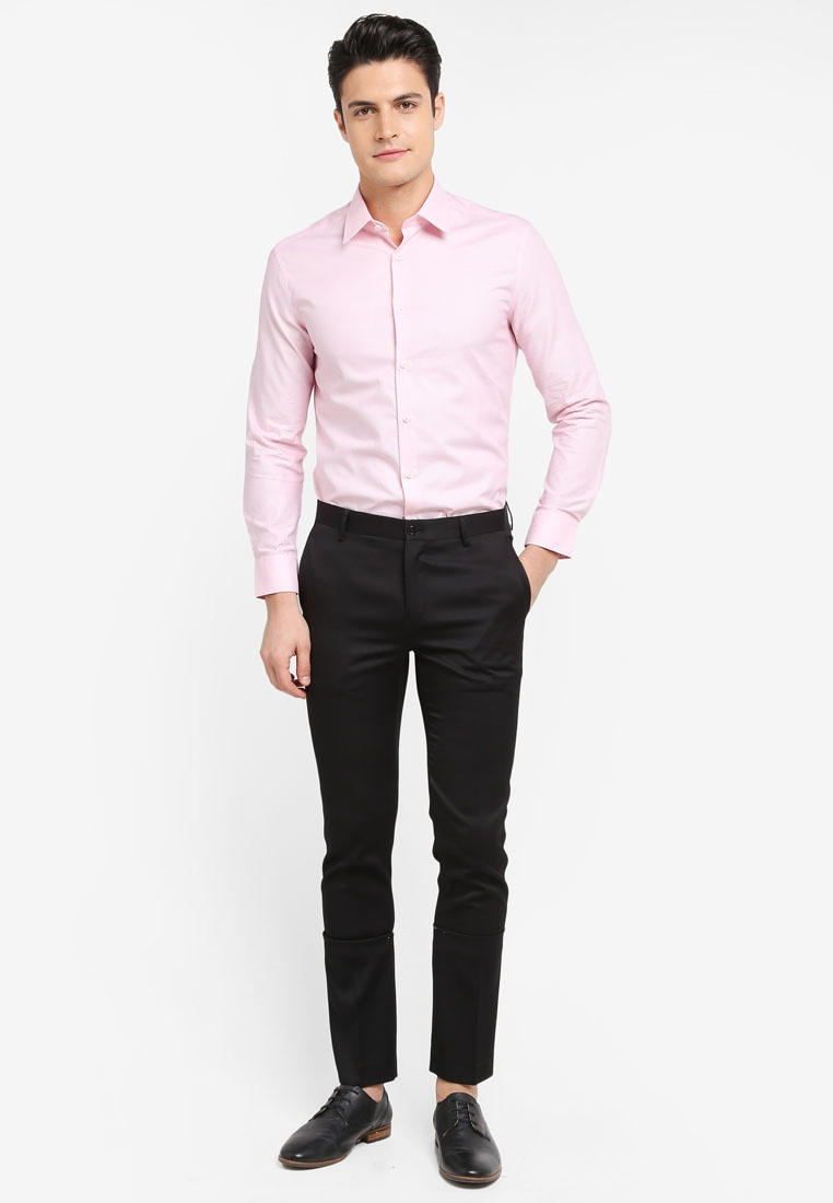 Long Sea Tone Pink G2000 2 Sleeve Pattern Shirt PwTxvwCqE
