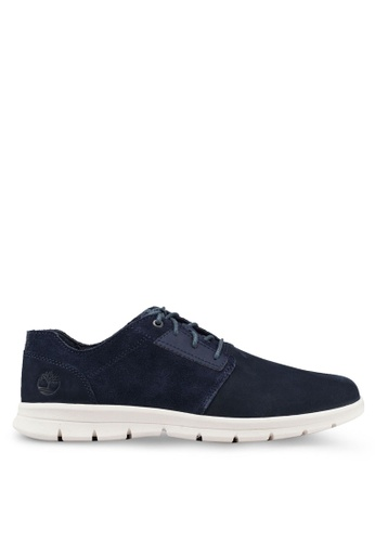 Timberland navy Graydon Water Resistant Low Shoes DDF36SHF6820D4GS_1