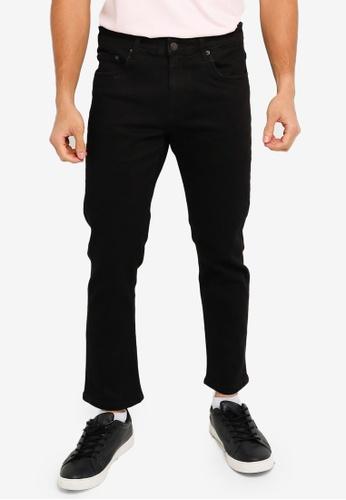 Electro Denim Lab black Calypso Slim Jeans D82BAAA07EC1EFGS_1