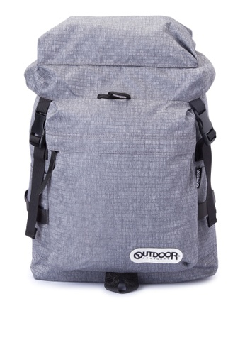 Outdoor Products grey Skid City Backpack OU226AC0JYCTPH_1