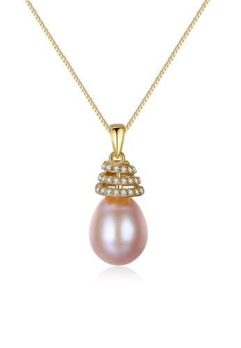 A.Excellence pink Premium Pink Pearl Elegant Necklace 46875AC46C0B2BGS_1