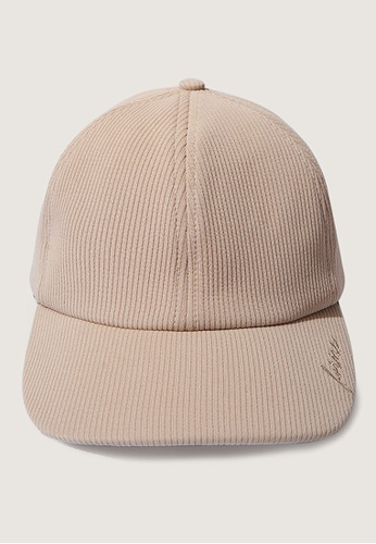 ForMe beige Embroidered Logo Cap 45E44ACD10F819GS_1
