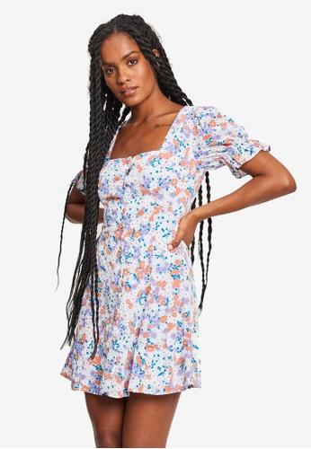 Tussah multi Luetta Mini Dress 6662CAAC63A307GS_1