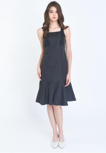 L'zzie black LZZIE DUDLEY DRESS - BLACK AA29AAA5A65D30GS_1