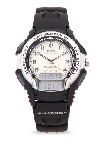 Casio black Gear Watch WS-300-7BVSDF CA076AC82LSZPH_1