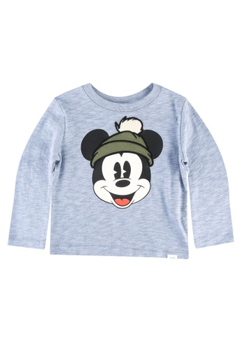 GAP blue Disney Mickey Mouse Graphic T-Shirt 18429KAC62DB45GS_1