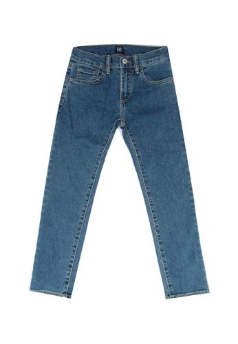 GAP blue High Stretch Skinny Jeans AAD4DKA055A604GS_1