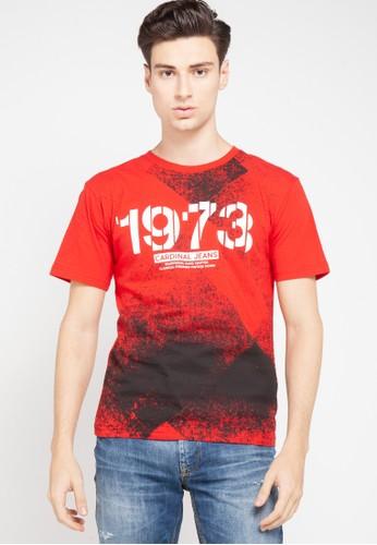 """Cardinal red T-Shirt """"1973"""" 7E0B3AACD676EBGS_1"""