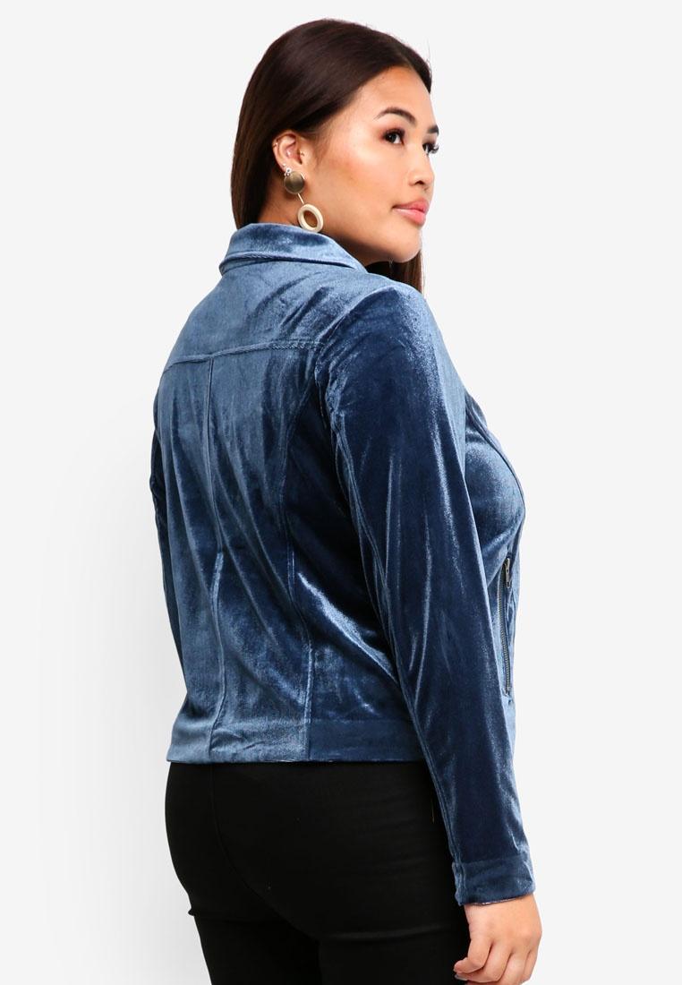Jacket Junarose Plus Wing Blue Teal Nita Size UtAtnH6