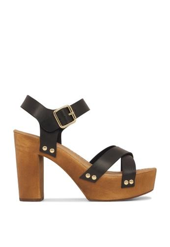 ROC Boots Australia black Faith Black Platform Sandal RO289SH41BQCSG_1