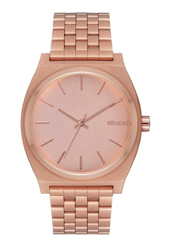 Nixon pink and gold Time Teller 37mm - All Rosegold (A045897) E6D1AAC9434550GS_1