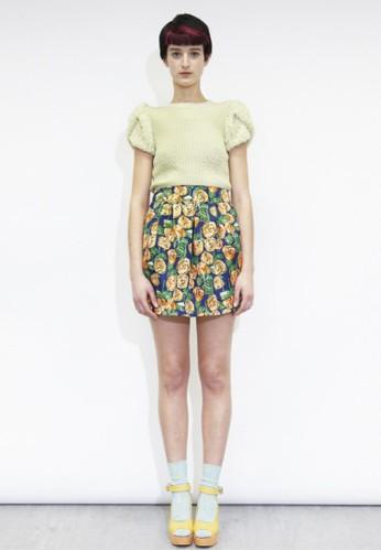 短袖針織esprit招聘衫, 韓系時尚, 上衣