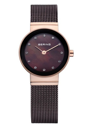 Bering gold Classic 10122-265 Brown 22 mm Women's Watch C4B34AC2DD11CCGS_1