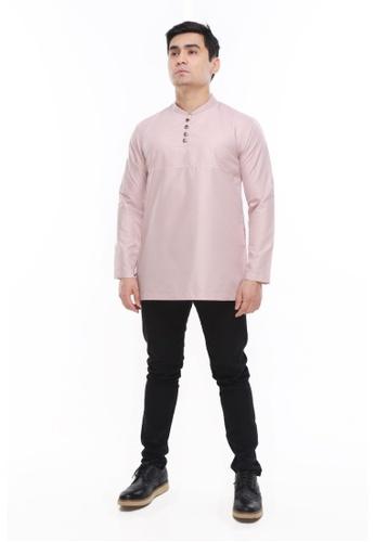Amar Amran pink Kurta Rayqal EDF6DAAD1315A2GS_1