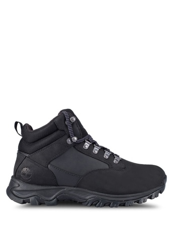 Timberland black Keele Ridge Waterproof Mid Shoes TI063SH0RWVSMY_1