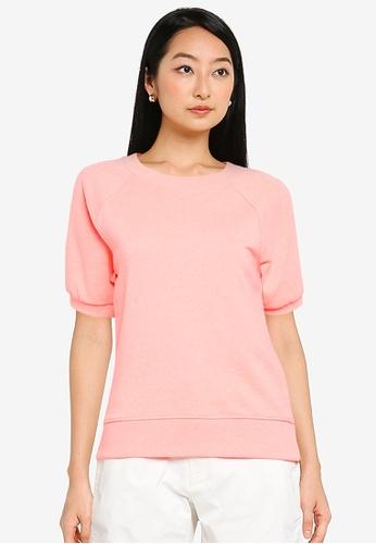 GAP orange Short Sleeve Pullover 9D4E8AA7CFA819GS_1