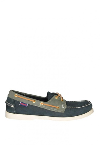 Sebago navy Men's Spinnaker Boat Shoes SE328SH0JJM3PH_1